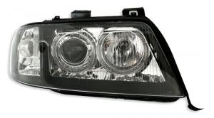 Audi A6(facelift) přední světla Angel Eyes-Black
