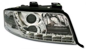 Audi A6 přední světla DAYLINE-Chrom