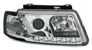 VW Passat B5 přední světla DAYLINE-Chrom