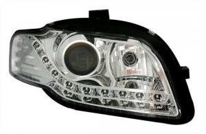 Audi A4 přední světla DAYLINE-Chrom