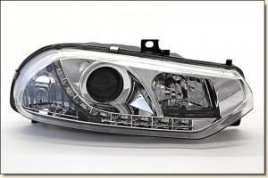 Alfa 156 přední světla DAYLINE-Chrom