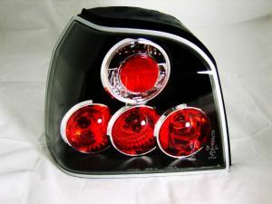 VW Golf III zadní světla Lexus Look. BLACK
