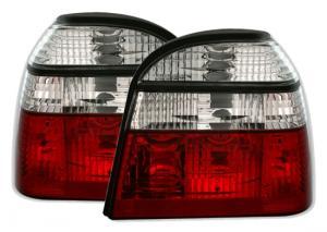 VW Golf 3 zadní crystal světla Red White.