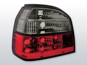 VW Golf 3 zadní crystal světla Red Smoke.
