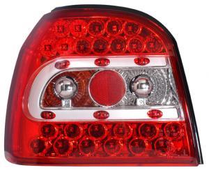 VW Golf 3 zadní LED světla Červená.