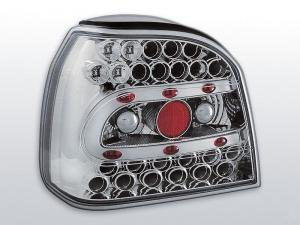 VW Golf 3 zadní LED světla. CHROM