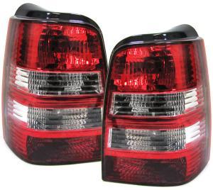 VW Golf 3 kombi zadní crystal světla Red/White.
