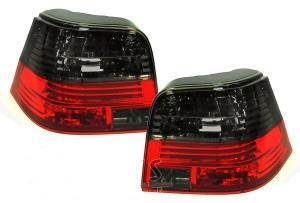 VW Golf IV zadní crystal světla Red/Smoke.