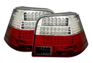 VW Golf IV zadní LED světla Red/White.