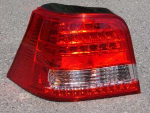 VW Golf IV zadní LED světla-Červené
