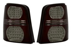 VW Touran zadní LED světla - Červená/Kouřová