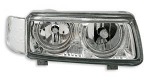 VW Passat B4 přední světla Angel Eyes-Chrom